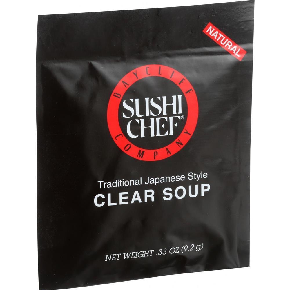 Sushi Chef - Clear Soup ( 12 - .33 OZ) %count(alt)
