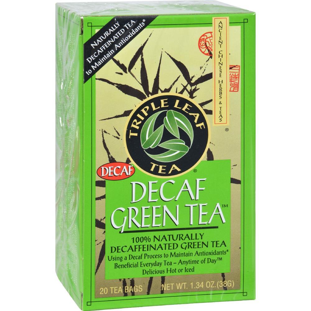 Triple Leaf Tea - Decaffeinated Green Tea ( 6 - 20 BAG) %count(alt)
