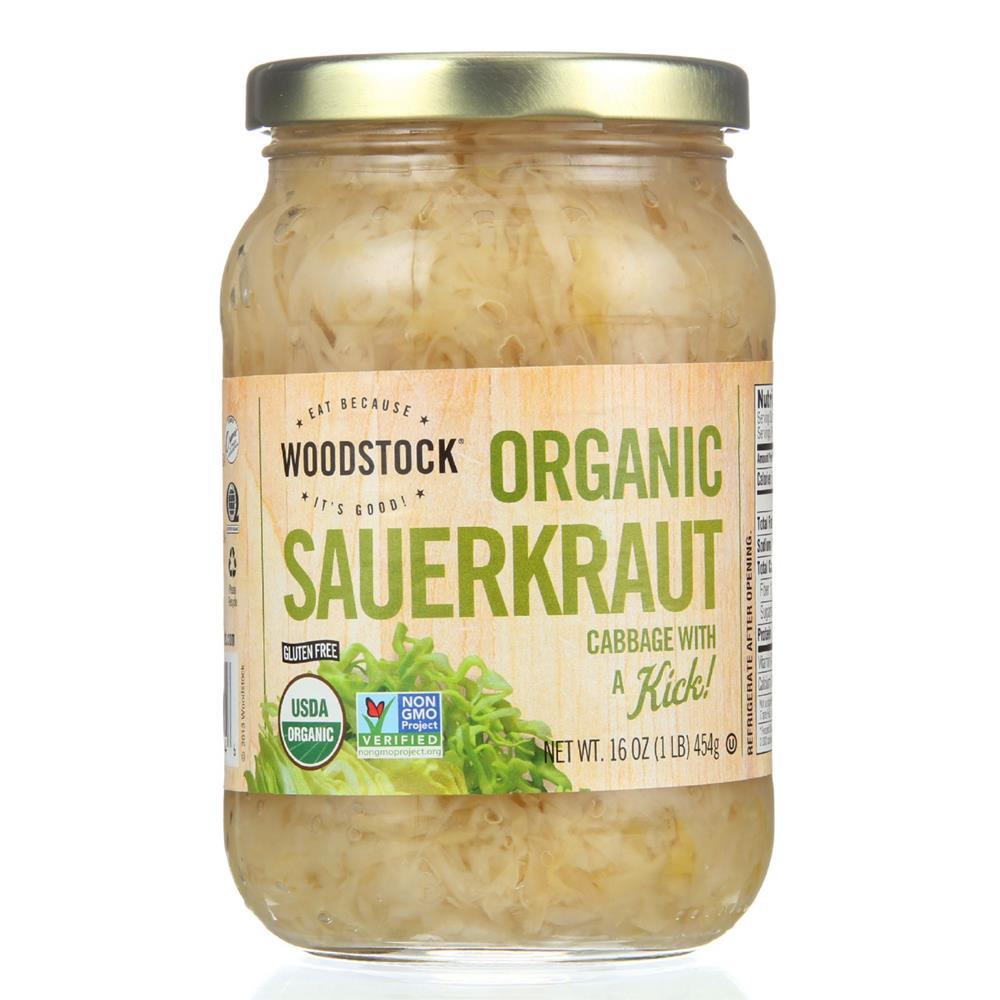 Organic Sauerkraut ( Case of 12 Jars - 16 OZ) %count(alt)