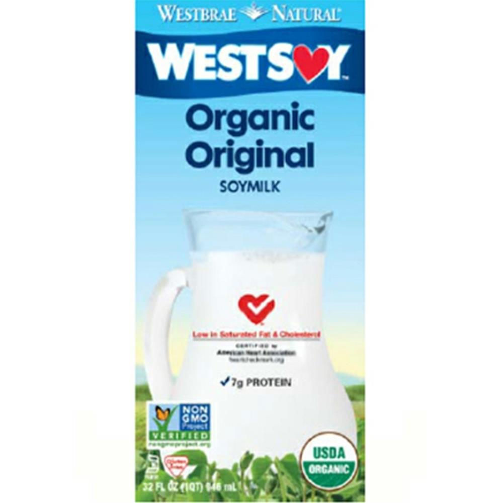 Organic Soy Milk ( Case of 12 - 32 oz ) %count(alt)