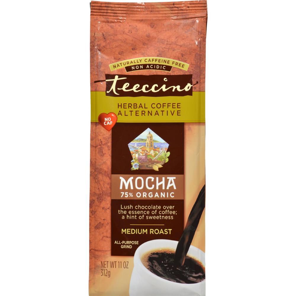 Teeccino - Teeccino Mediterranean Herbal Coffee - Mocha - Medium Roast - Caffeine Free ( 2 - 11 OZ) %count(alt)