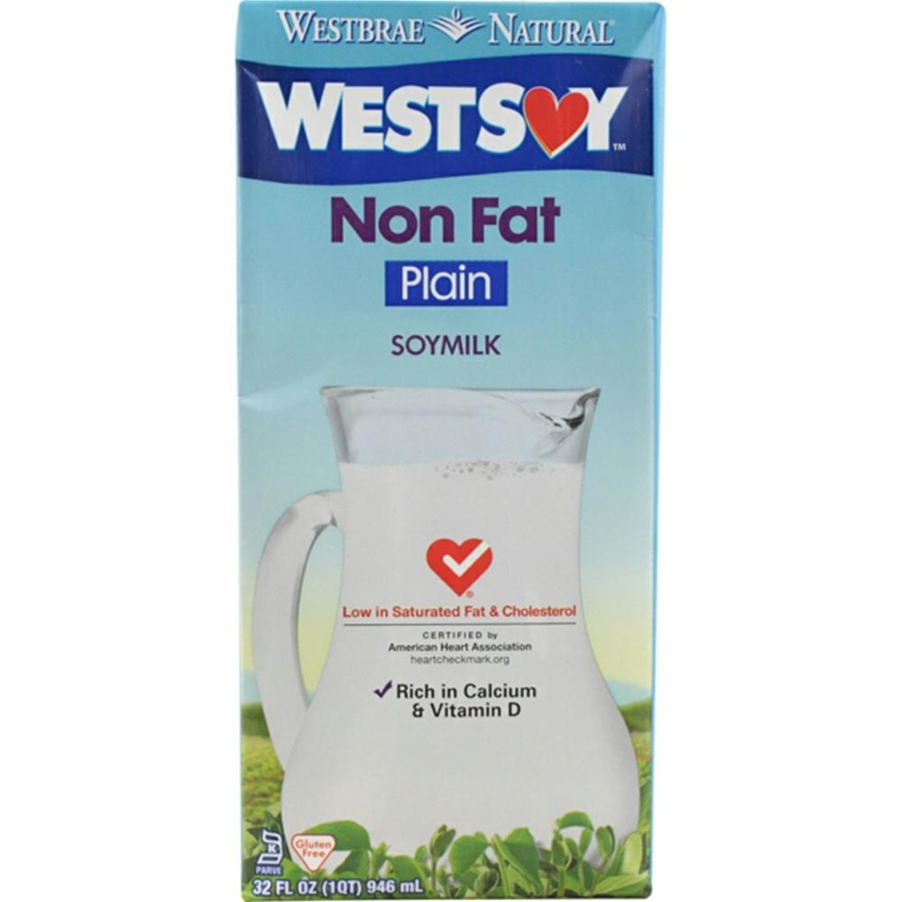 Westsoy - Unsweetened Plain Soy Beverage ( 12 - 32 oz boxes) %count(alt)